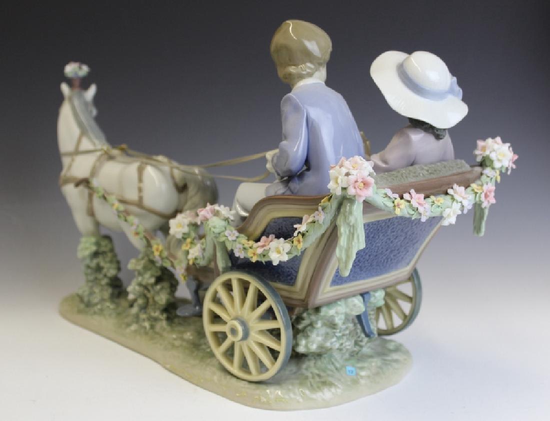 Lladro Spain Ride In The Park 5718 L/E Figurine - 5