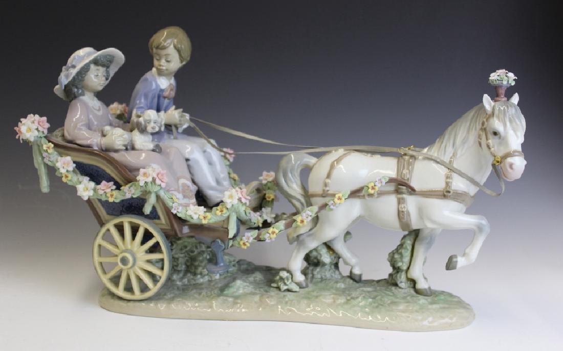 Lladro Spain Ride In The Park 5718 L/E Figurine - 7