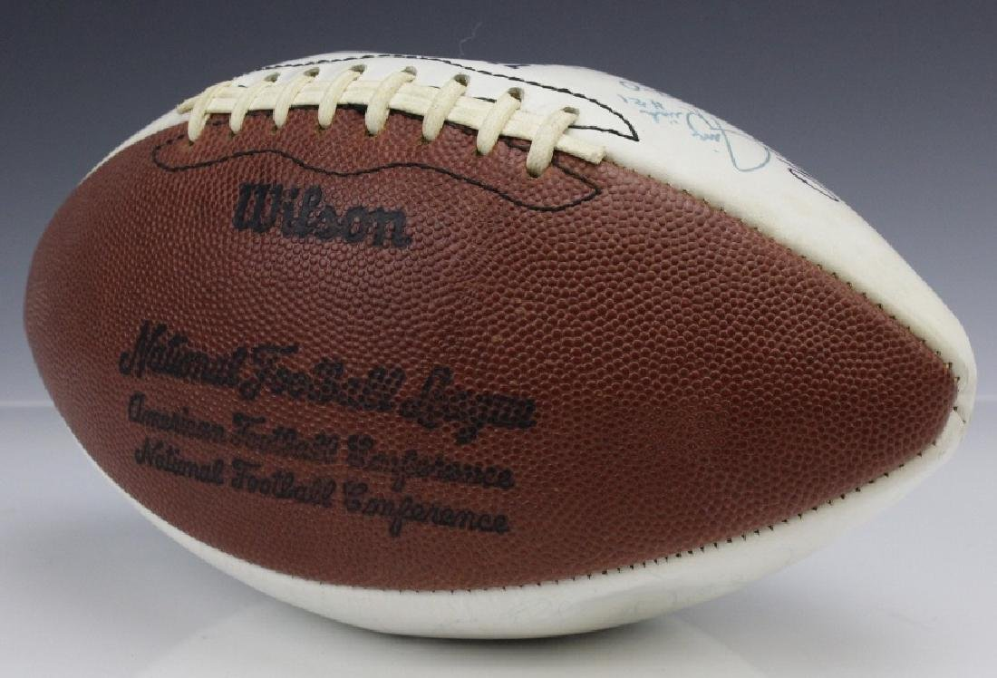 17-0 Team Signed 1972 Miami Dolphins Football - 6