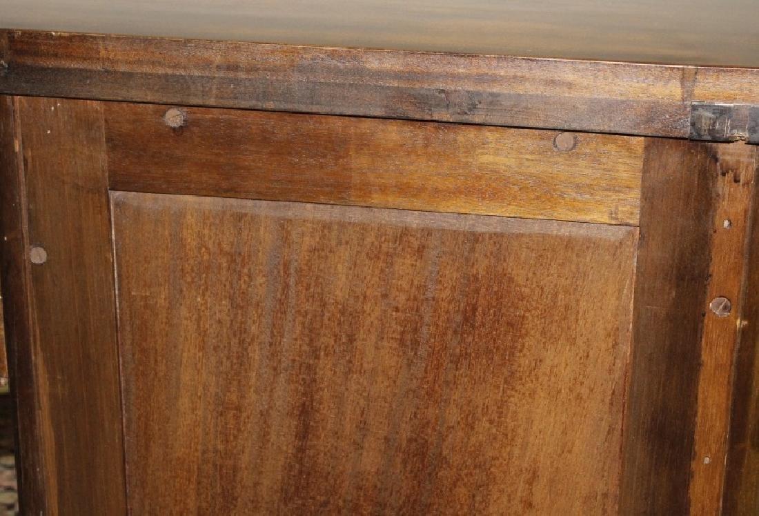 English Custom Mahogany Sheraton Style Sideboard - 9