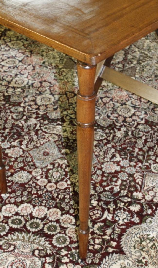 Antique 19c English Campaign Traveling Table - 7