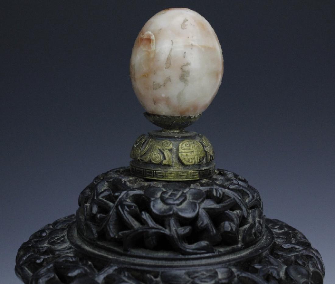 18th - 19th Century Chinese Apple Green Glaze Vase - 8