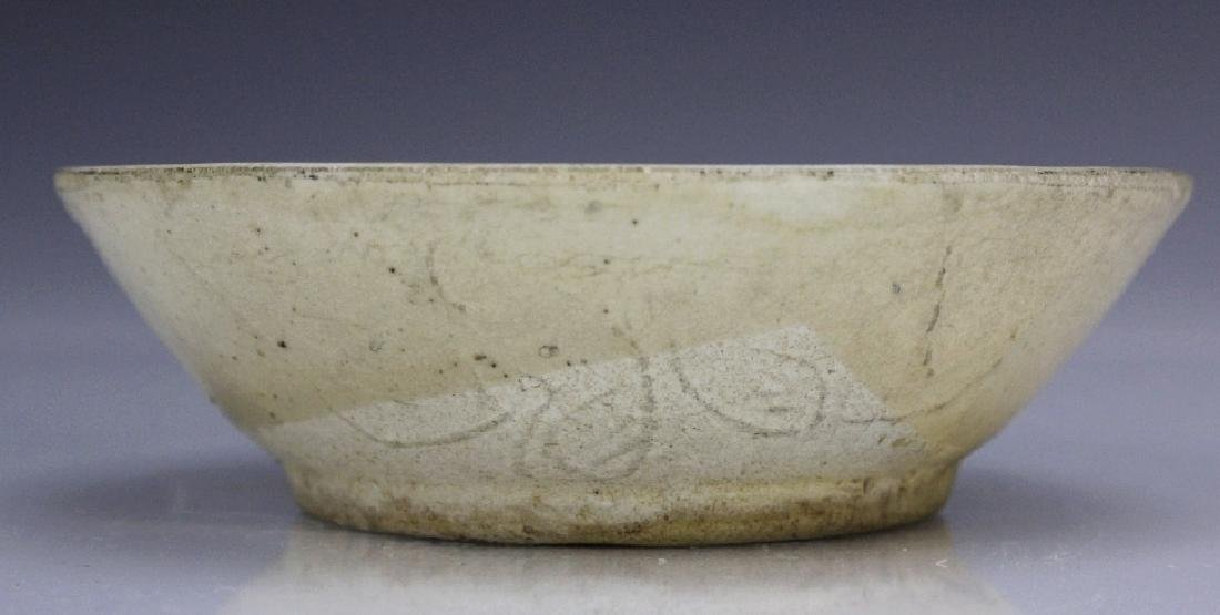 Chinese Sung Dynasty Cream Wear Pottery Bowl - 7