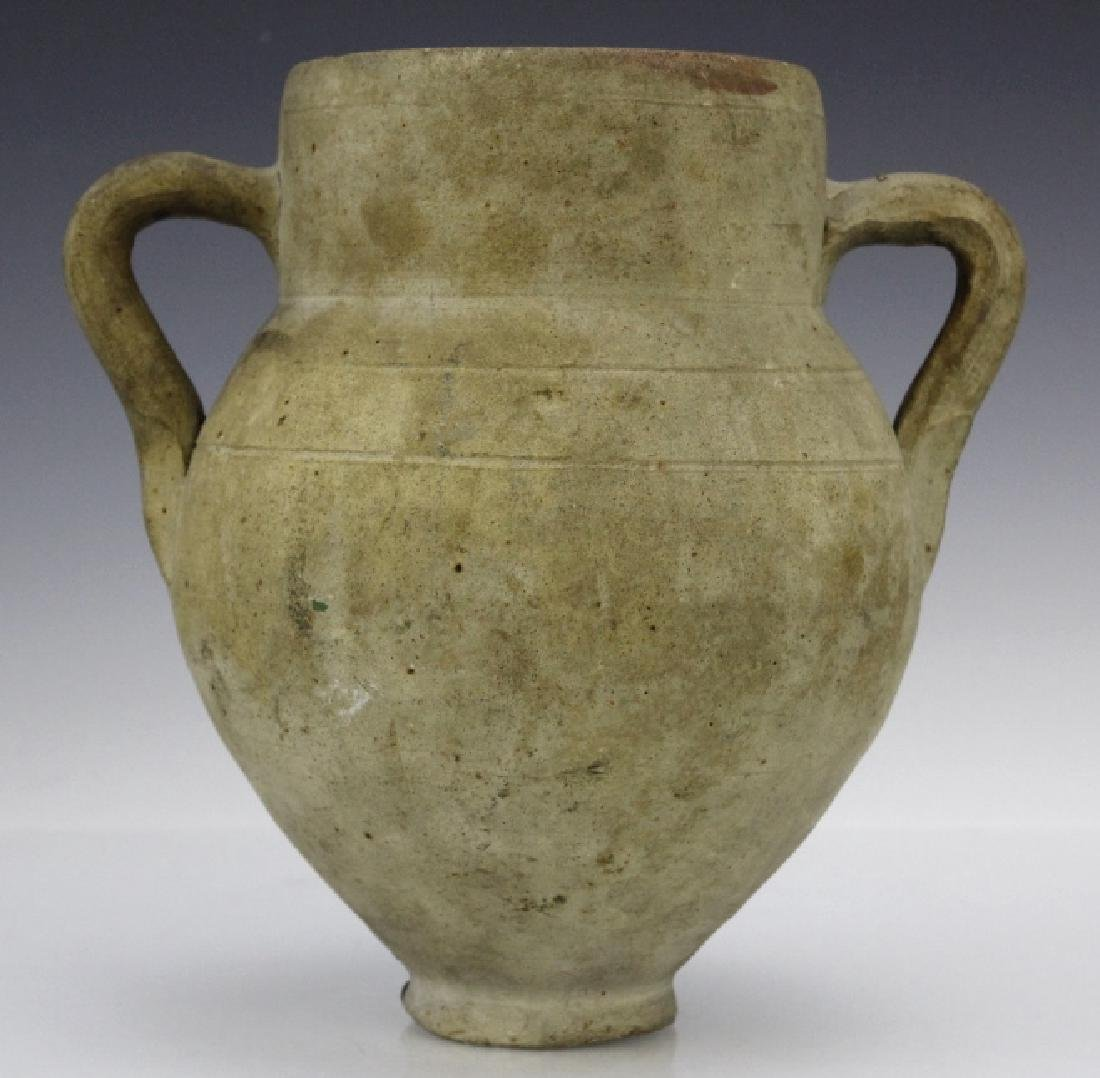 Eastern Mediterranean Two Handled Pottery Jug