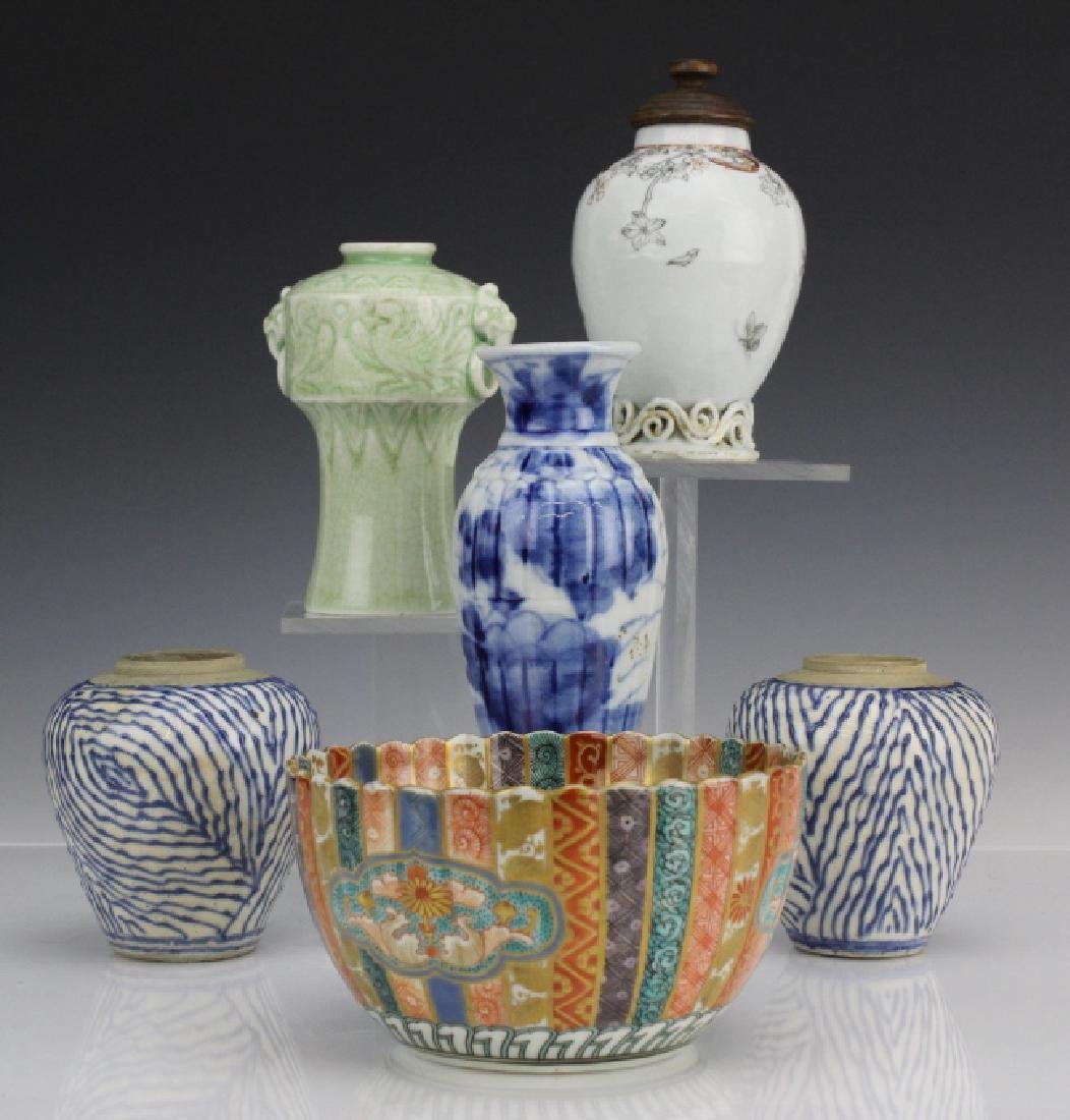 Mixed Lot of Japanese Chinese Export Porcelain