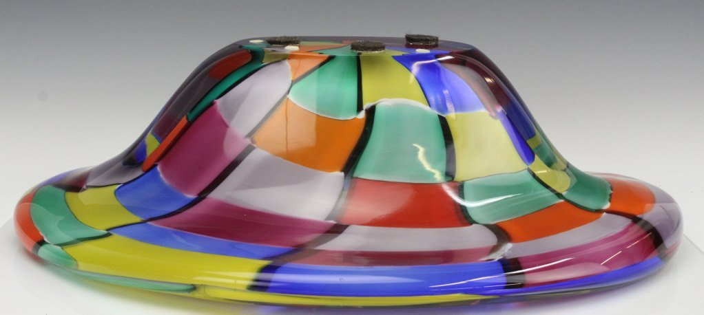 Signed Eros Raffael Murano Italian Art Glass Bowl - 6