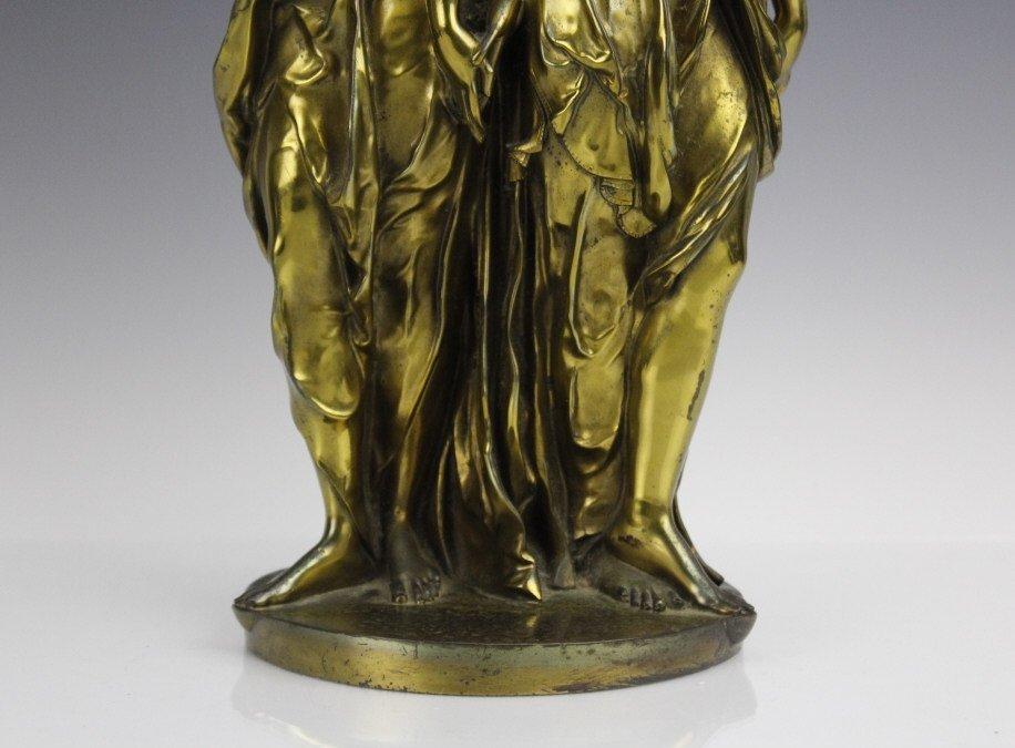Barbedienne Bronze Figural Three Graces Sculpture - 3