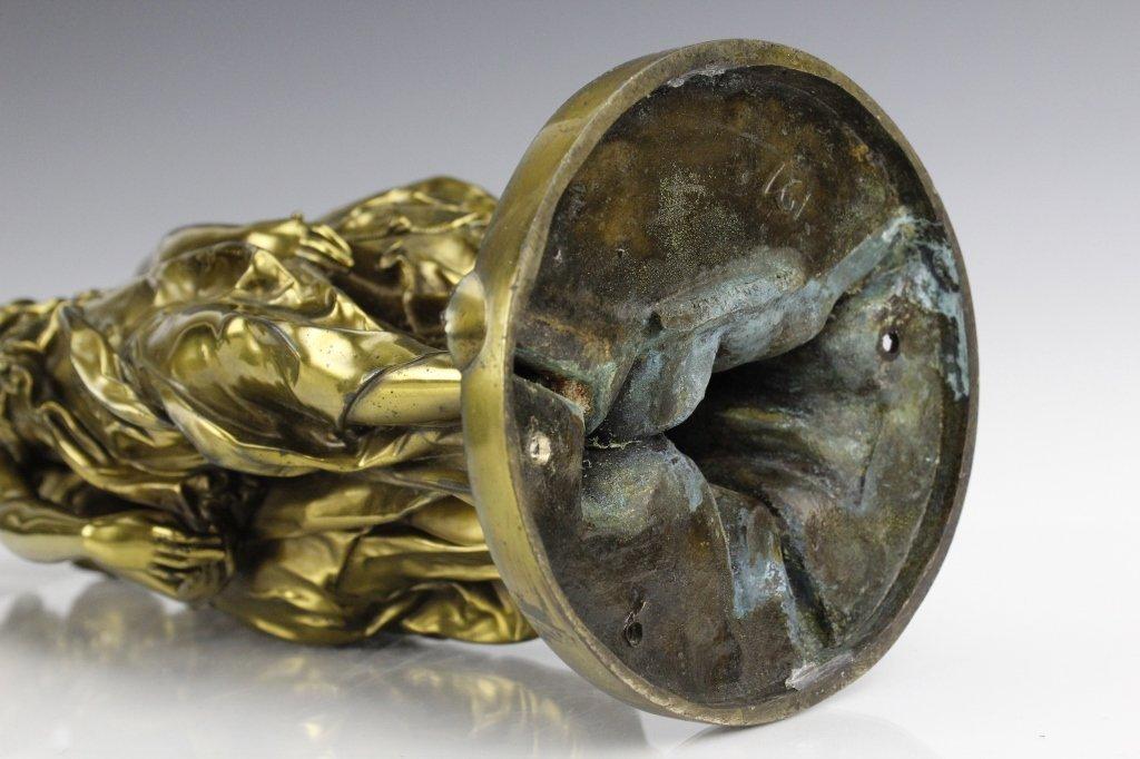 Barbedienne Bronze Figural Three Graces Sculpture - 8