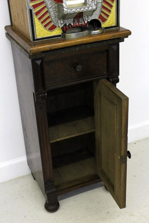 Mills Novelty Co War Eagle Quarter Slot Machine c. 1931 - 10