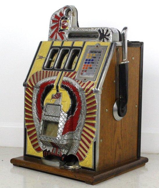 Mills Novelty Co War Eagle Quarter Slot Machine c. 1931 - 2