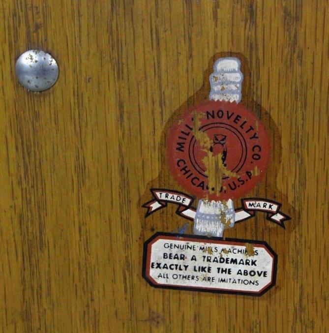 Mills Novelty Co War Eagle Quarter Slot Machine c. 1931 - 7