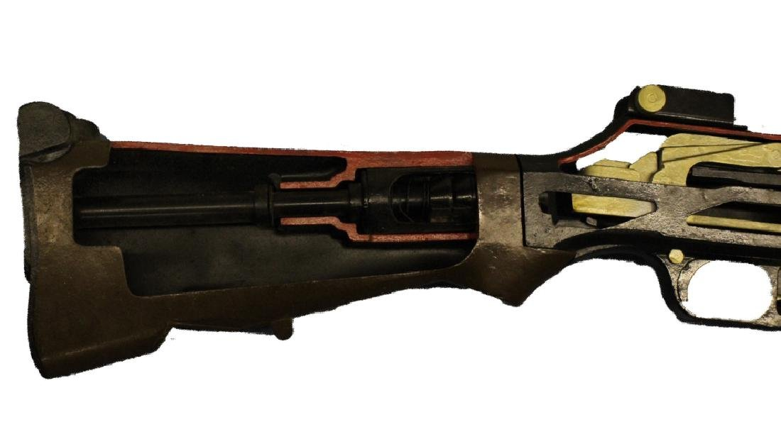 "HUGE 95"" B.A.R. Browning Automatic Cutaway Gun Rifle - 2"