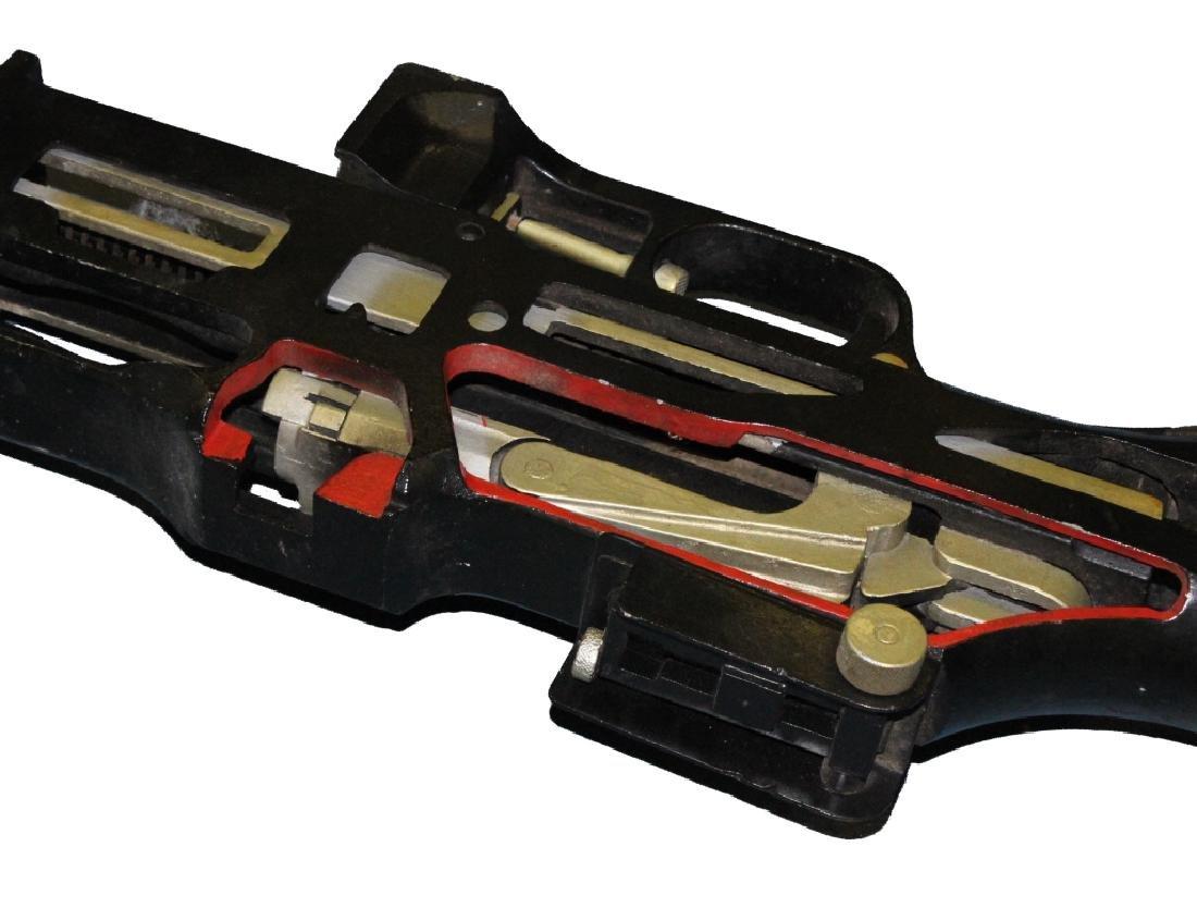 "HUGE 95"" B.A.R. Browning Automatic Cutaway Gun Rifle - 5"