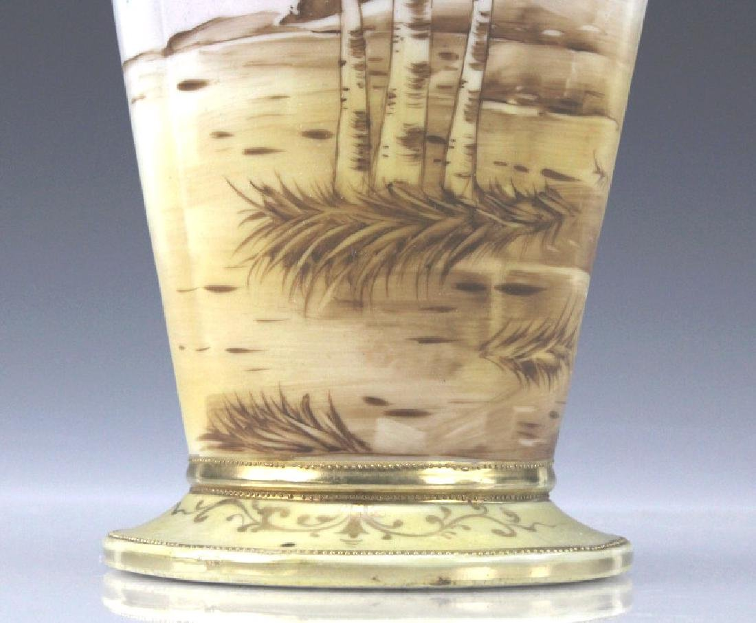 Imperial Nippon Painted & Gilt Decorated Porcelain Vase - 5