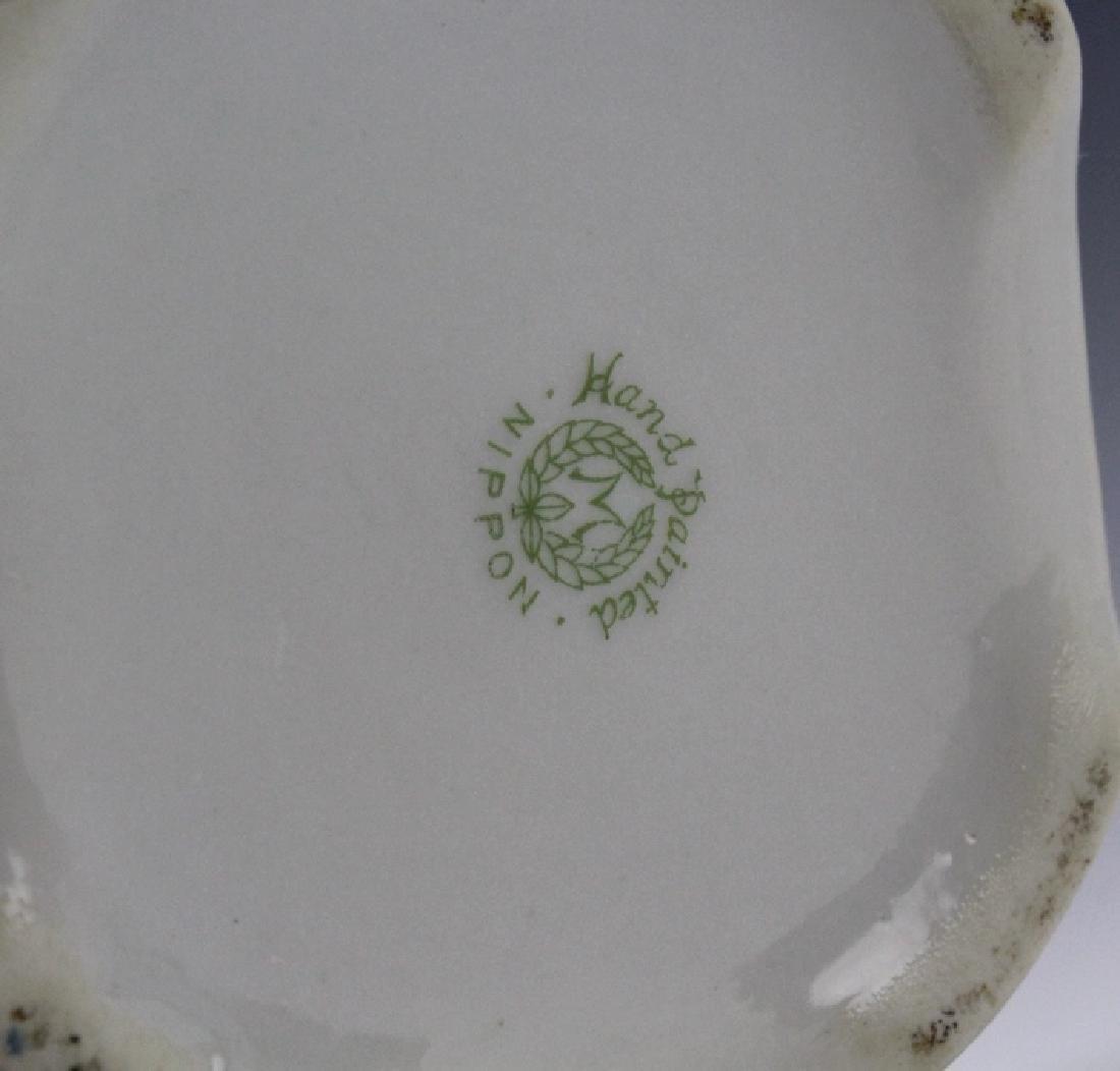 Nippon Japanese Porcelain Landscape Porcelain Vase - 8