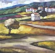 SLAVA BRODINSKY Russian Impressionist Oil Painting