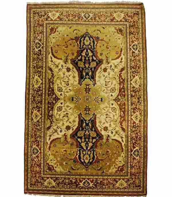 "Huge Room Size 14' x 9'6"" Hand Woven Oriental Rug"