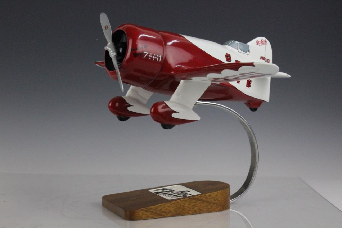 Gee Bee R-1 Super Sportster NR2101 Aircraft Model