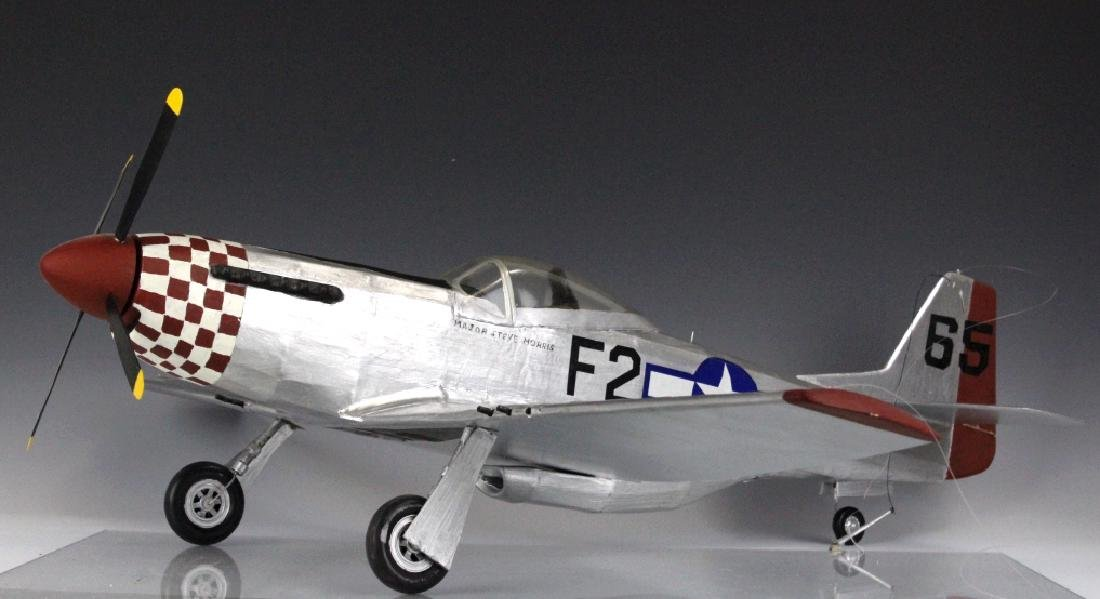 Major Steve Morris Hand Made Aircraft Model F2 S