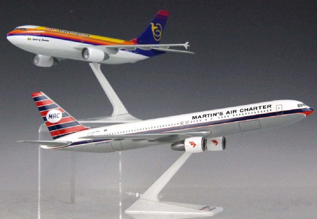 Air Jamaica A310 & Martins Air Charter Desk Models