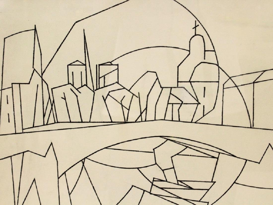 Andre Beaudin (1895 - 1979)  French Ink On Paper - 4