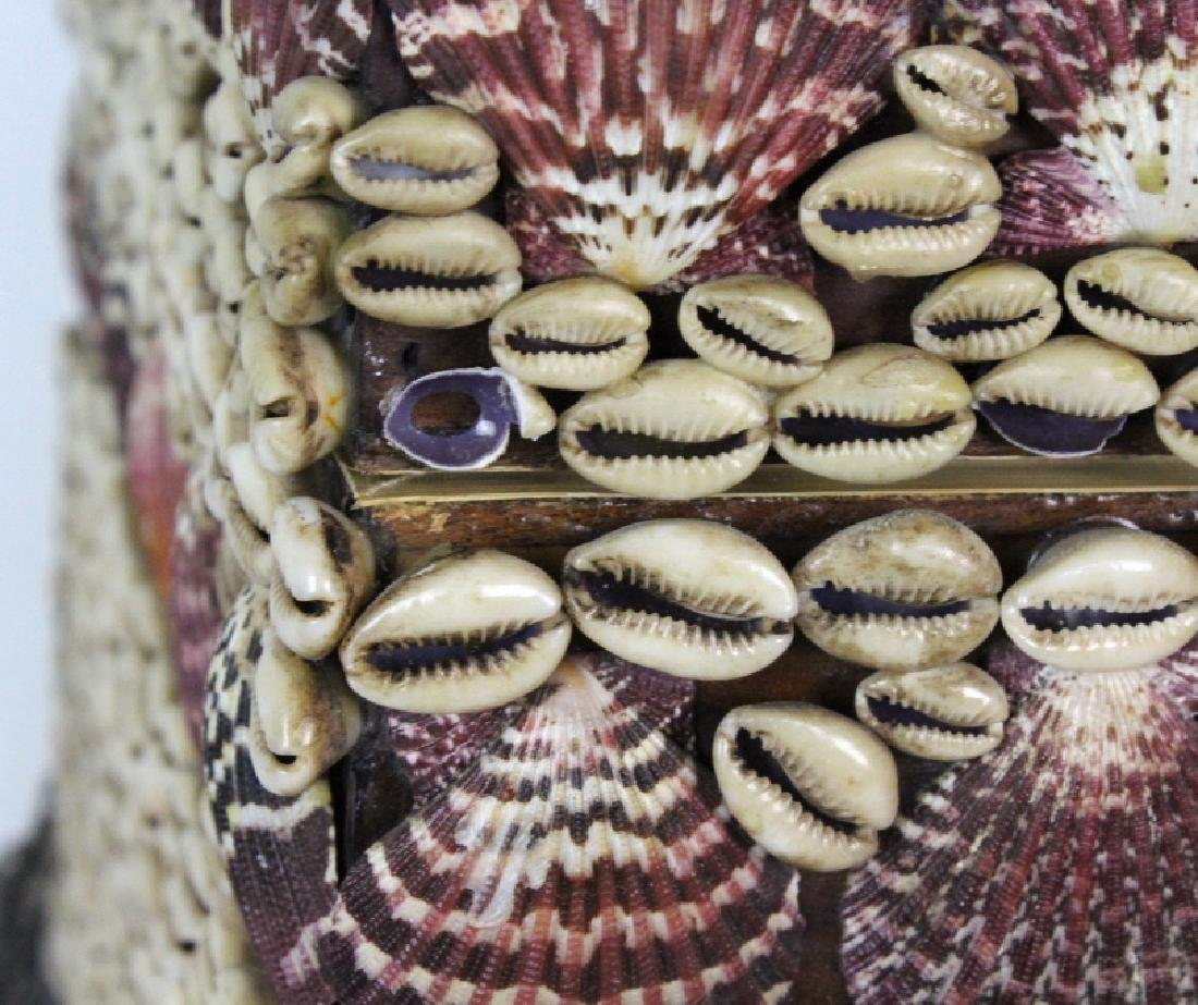 Maitland Smith Large Seashell Box with Silvered - 9