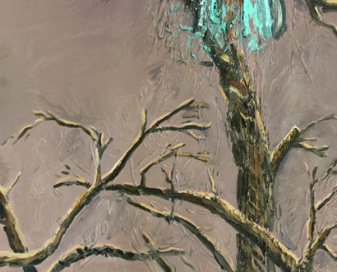 "Jim Sullivan The Prey 53""x84"" Painting BASS MUSEUM - 4"