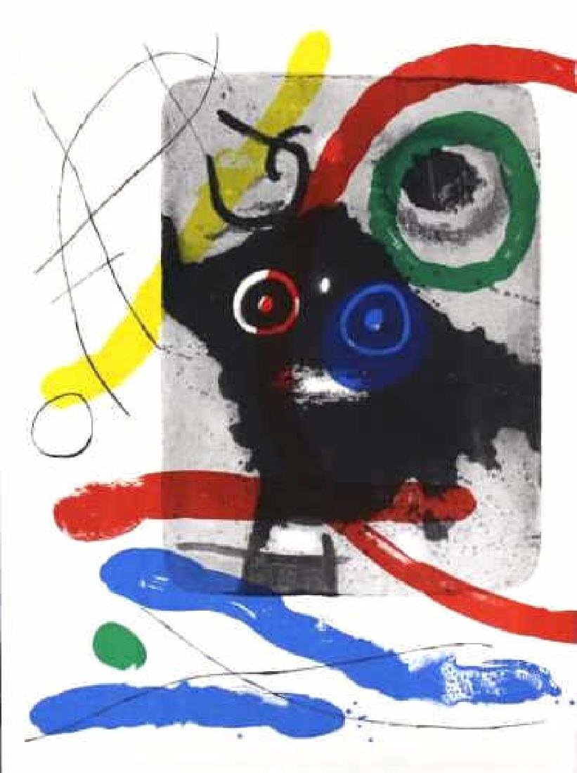 3 Joan Miro Lithographs Miro Book 1956 from BASS MUSEUM - 2