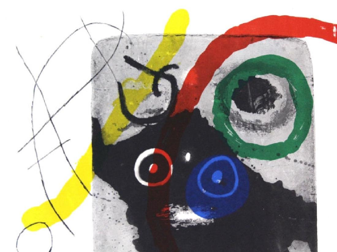 3 Joan Miro Lithographs Miro Book 1956 from BASS MUSEUM - 3