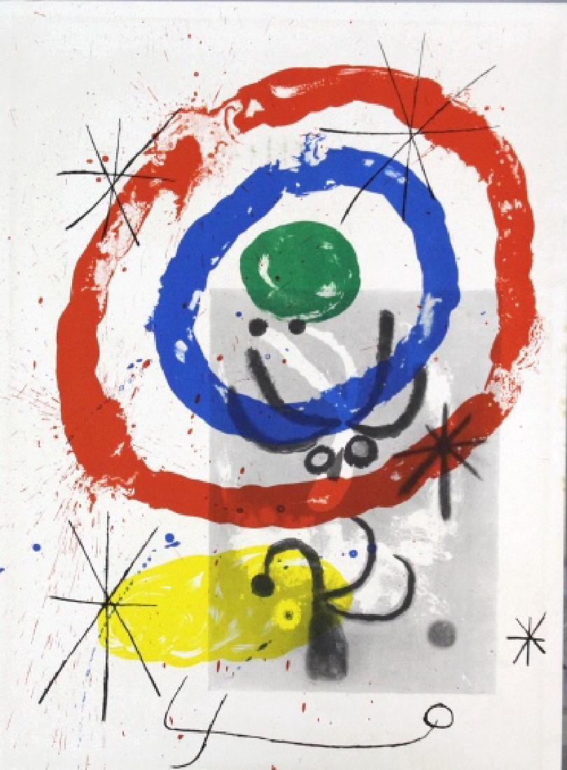 3 Joan Miro Lithographs Miro Book 1956 from BASS MUSEUM - 5