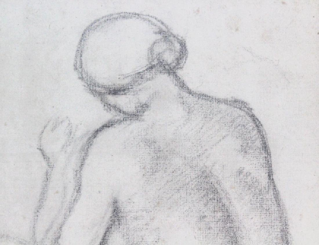 ARISTIDE MAILLOL French Female Nude Pencil Drawing - 4
