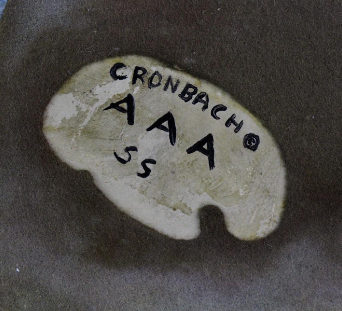Robert Cronbach Prancing Stallion Pottery Dish - 8