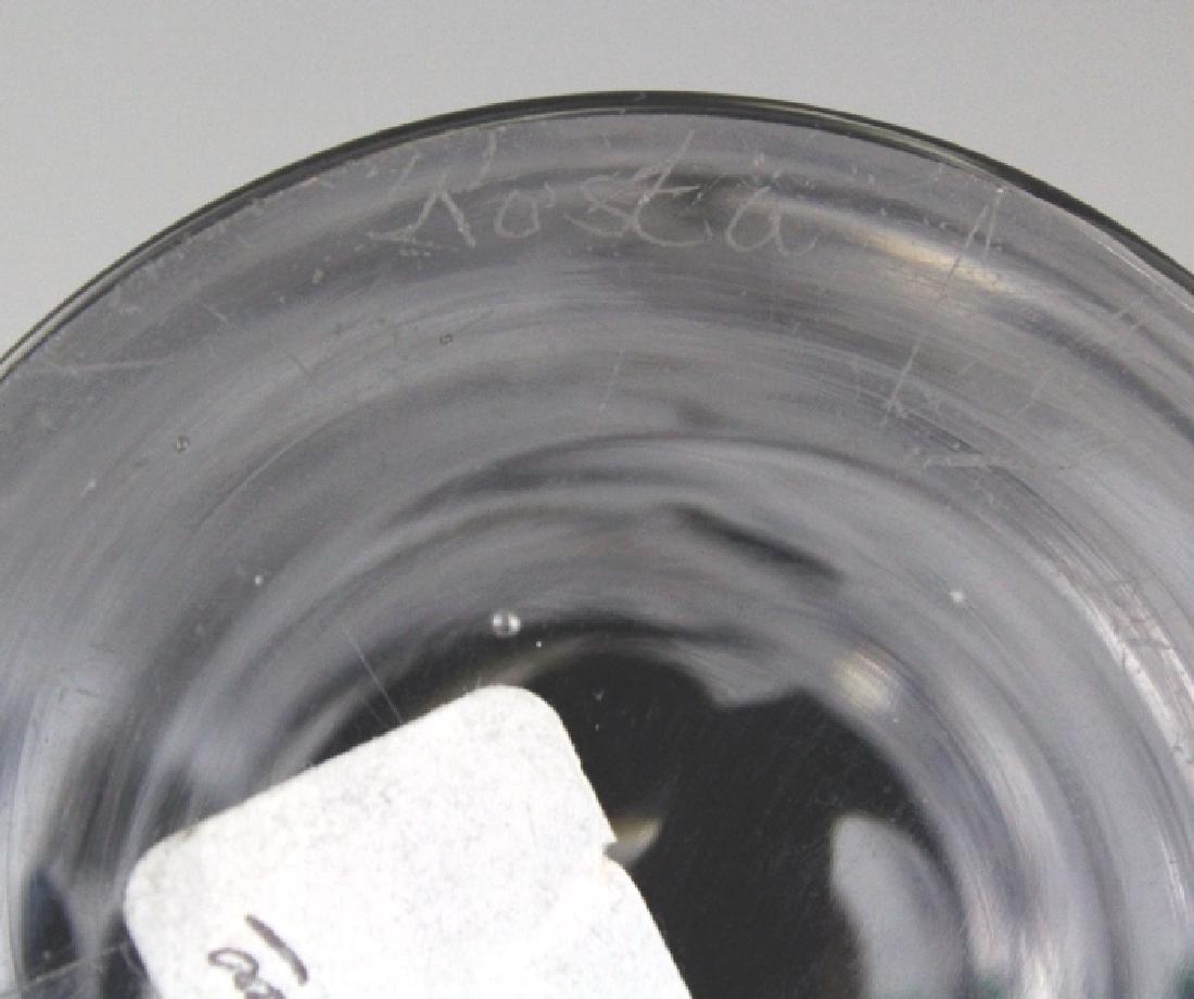 Kosta Boda Signed Cased Art Glass Large Vase - 7