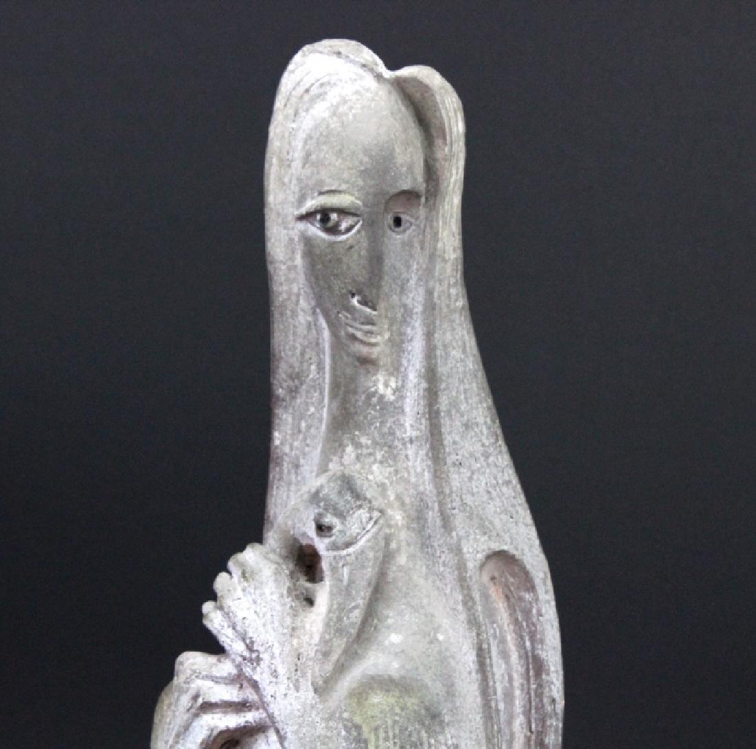 Edris Eckhart Unique Contemporary Clay Sculpture - 2