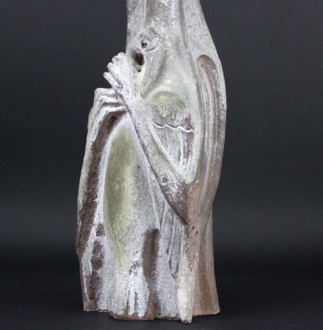 Edris Eckhart Unique Contemporary Clay Sculpture - 3