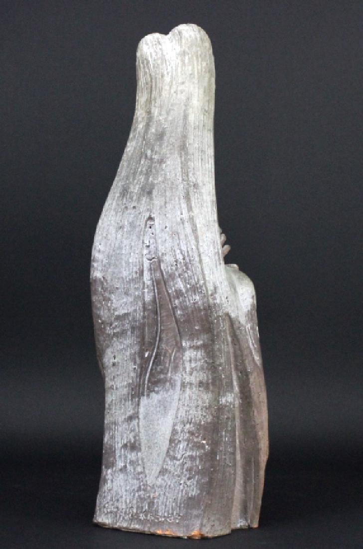 Edris Eckhart Unique Contemporary Clay Sculpture - 5