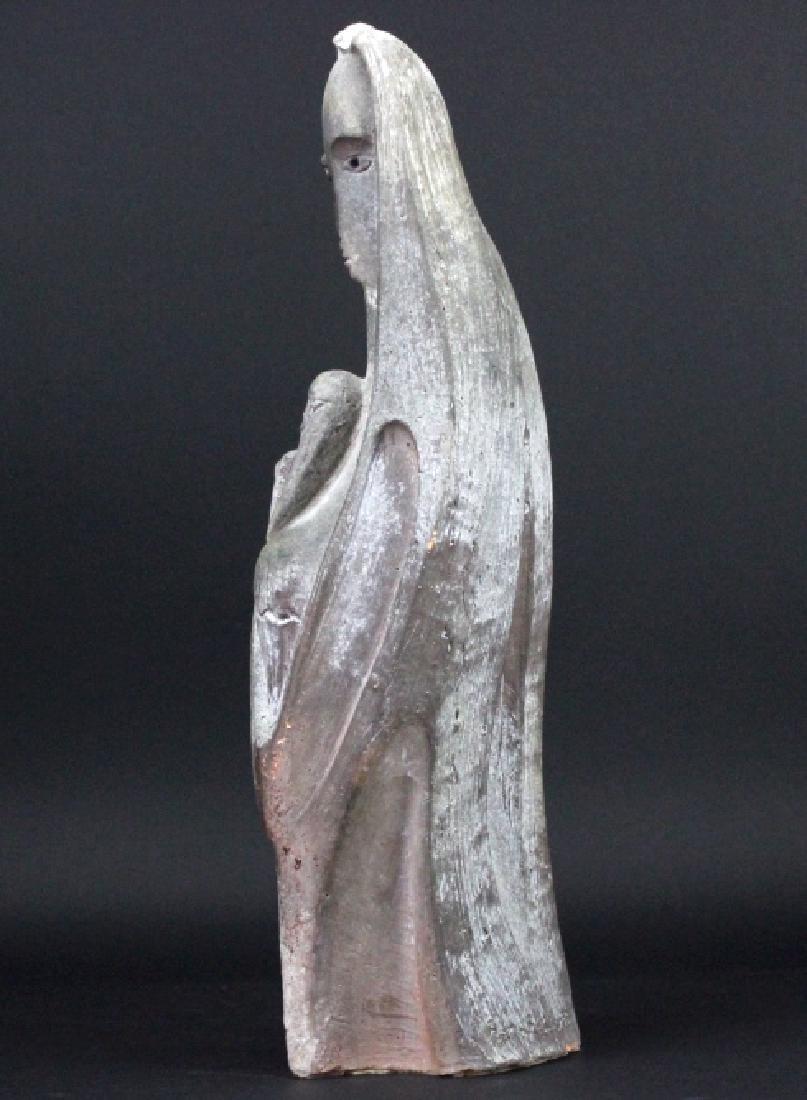 Edris Eckhart Unique Contemporary Clay Sculpture - 7