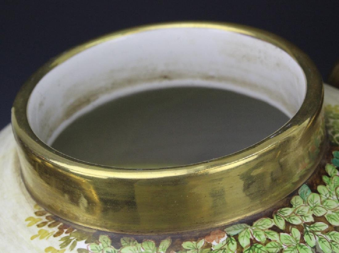 Signed Leonardo Batignani Italian Porcelain Urn Vase - 9