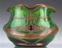Loetz Austrian Secession Art Nouveau Glass Vase