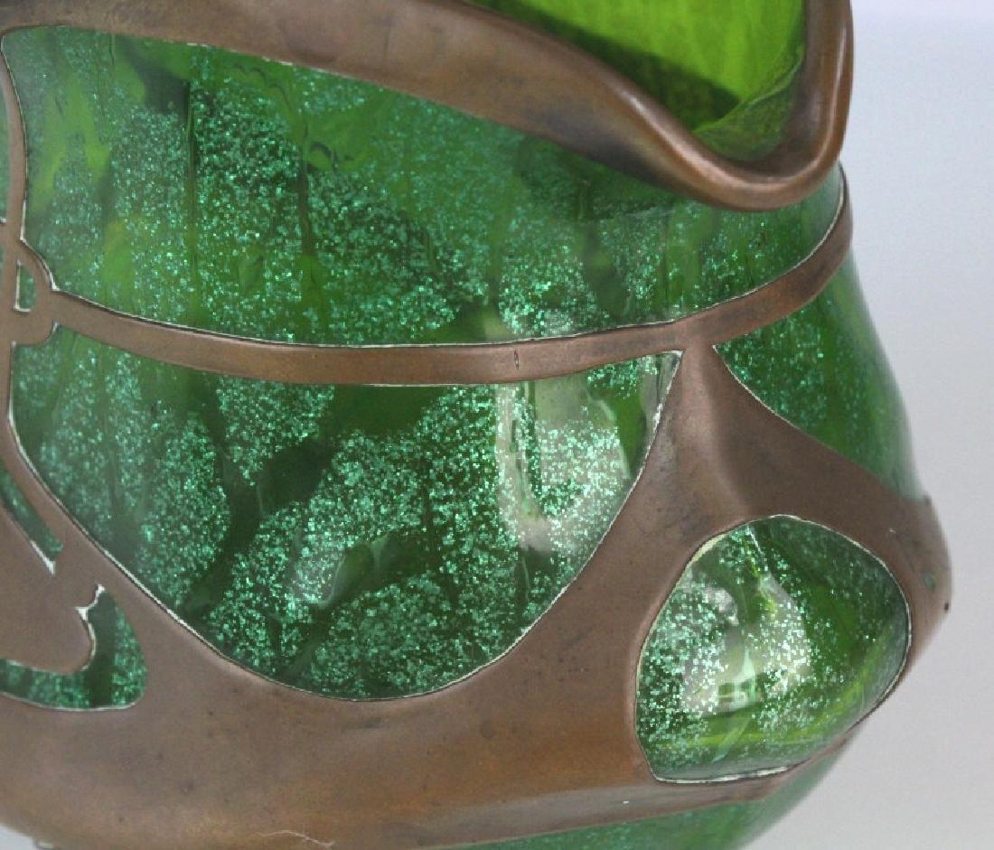 Loetz Austrian Secession Art Nouveau Glass Vase - 3