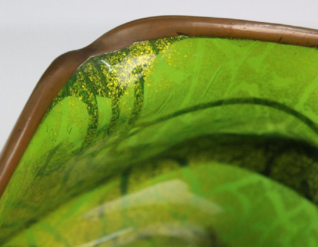 Loetz Austrian Secession Art Nouveau Glass Vase - 5