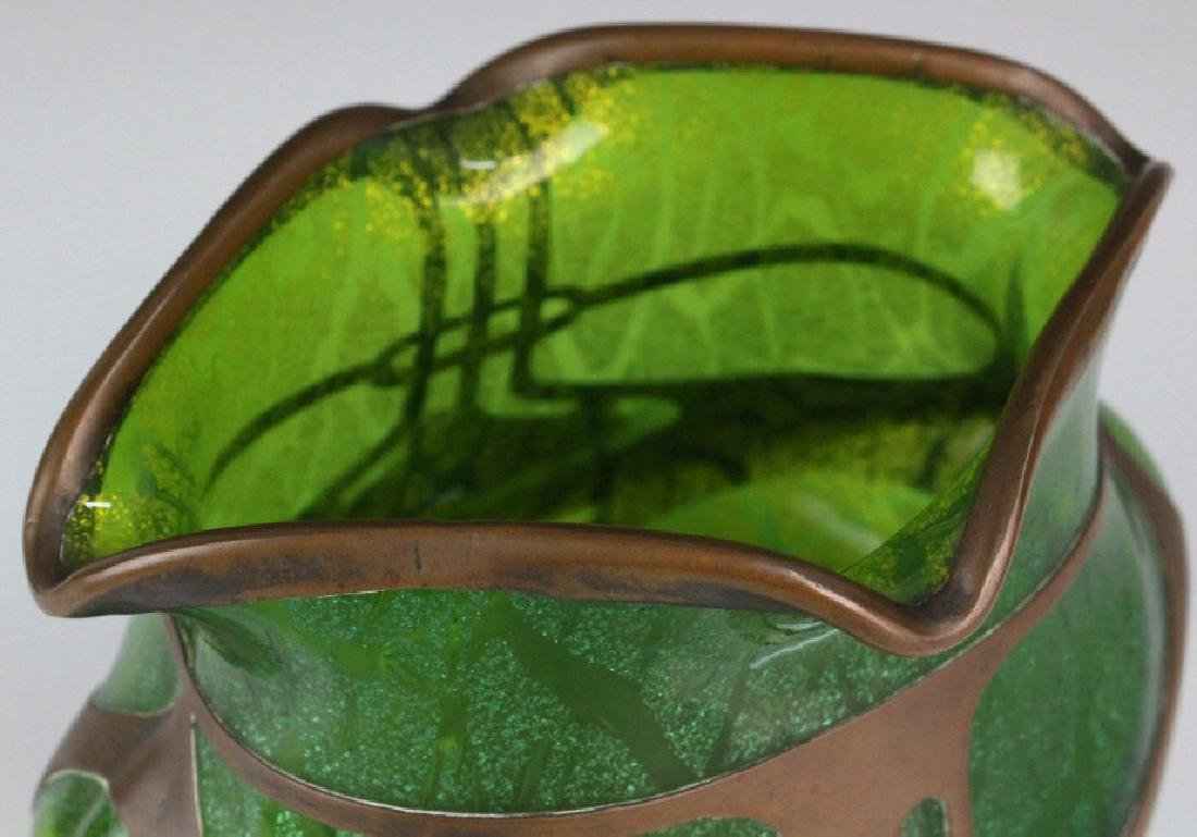 Loetz Austrian Secession Art Nouveau Glass Vase - 7