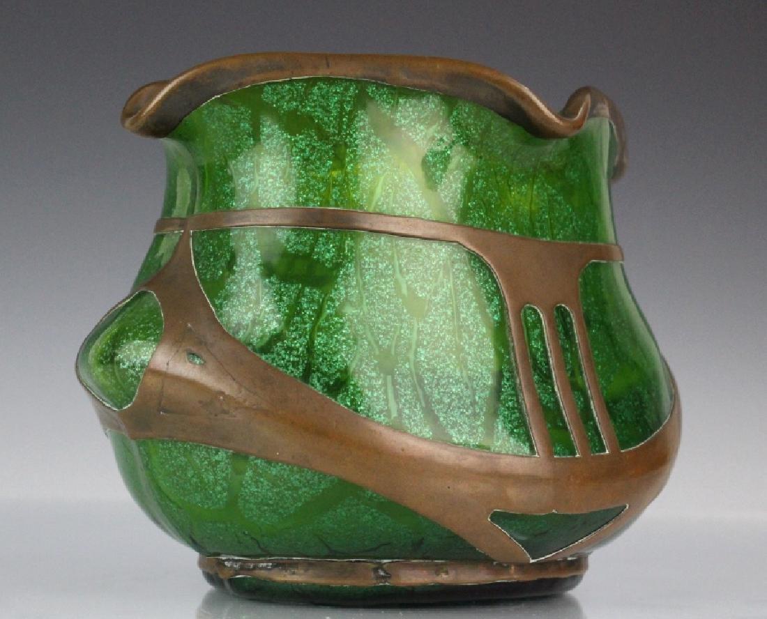 Loetz Austrian Secession Art Nouveau Glass Vase - 8