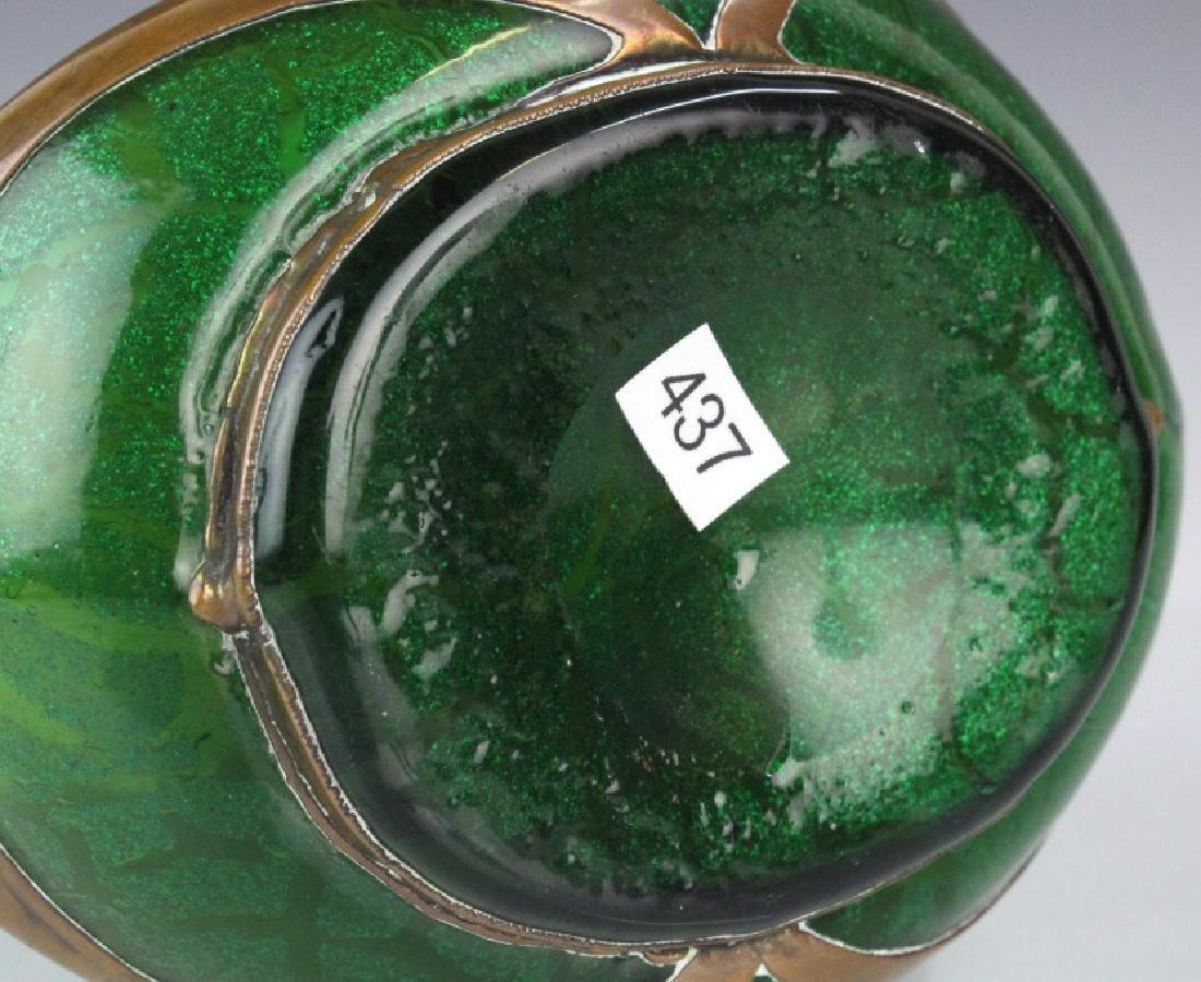 Loetz Austrian Secession Art Nouveau Glass Vase - 9