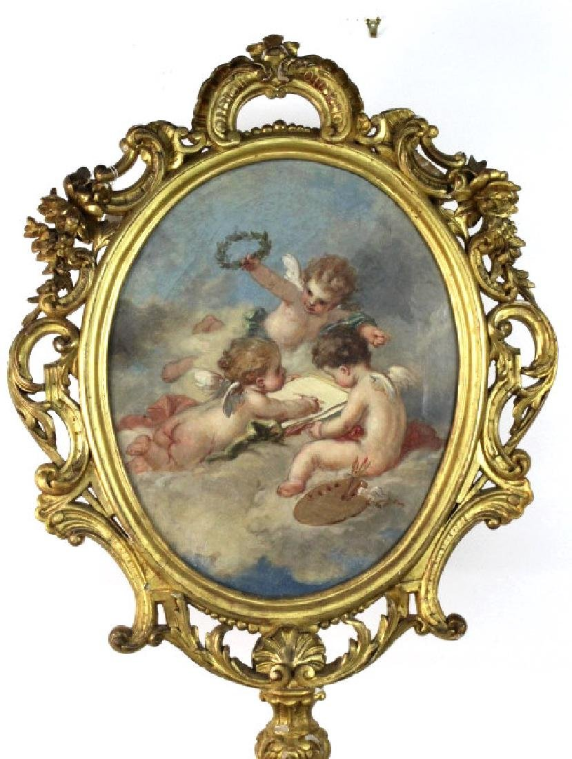 Oval Screen Painting Francois Boucher from BASS MUSEUM - 2