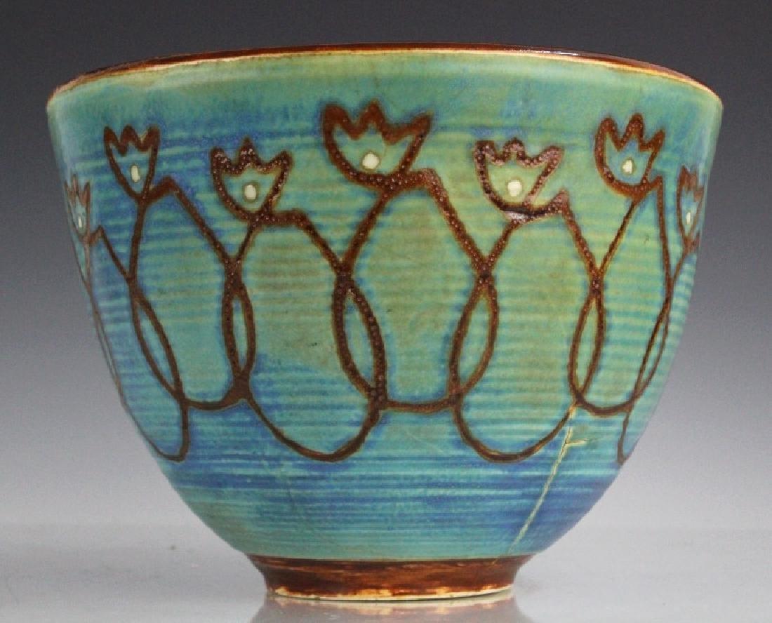 Maija Grotell Studio Pottery Hand Painted Ceramic - 6