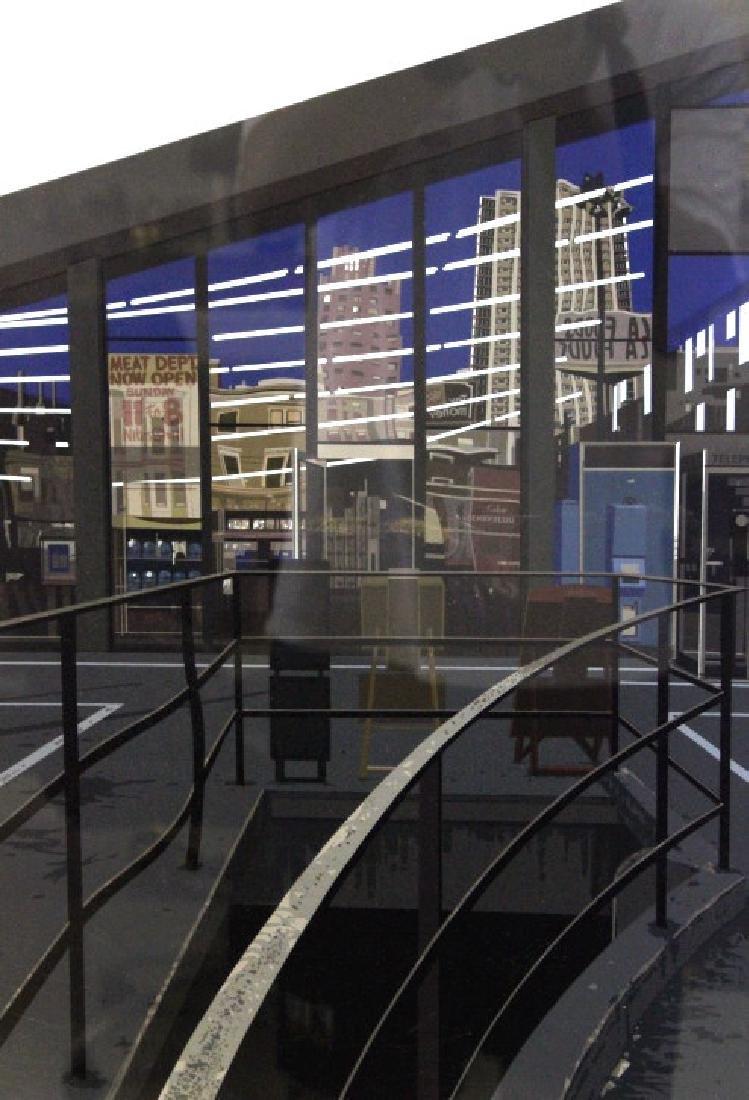 Richard Estes Realist Serigraph Supermarket BASS MUSEUM