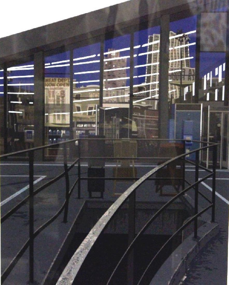 Richard Estes Realist Serigraph Supermarket BASS MUSEUM - 4