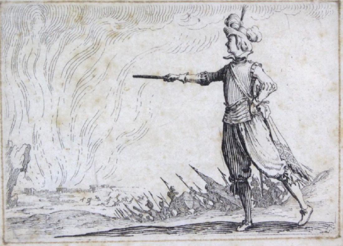 Jacques Callot 17th Century Officer Battle BASS MUSEUM