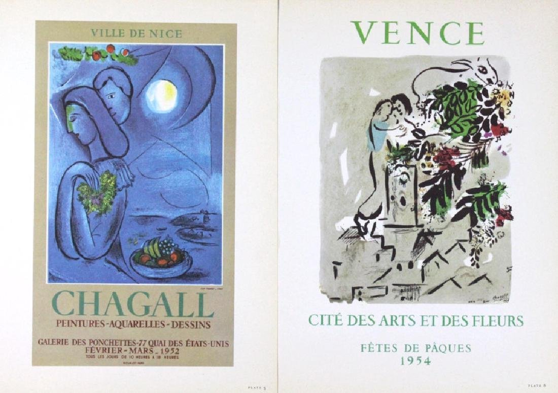 10 Calder Matisse Chagall Color Litho Bookplates - 3